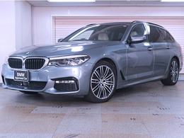BMW 5シリーズツーリング 540i xドライブ Mスポーツ 4WD デビューP ベージュ革 BMW認定中古車