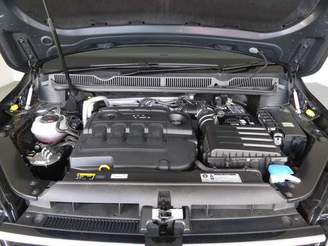粘り強いトルクと静粛性が好評のTDIエンジン