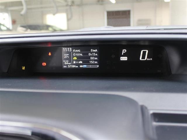 マルチインフォメーションディスプレイ付きのメーターです!エコ運転へ導く多彩な情報を表示してくれます。