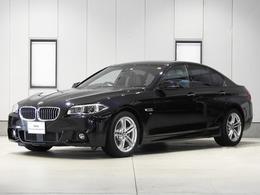 BMW 5シリーズ 528i Mスポーツ 2年保証 黒革コンフォート 360度画像