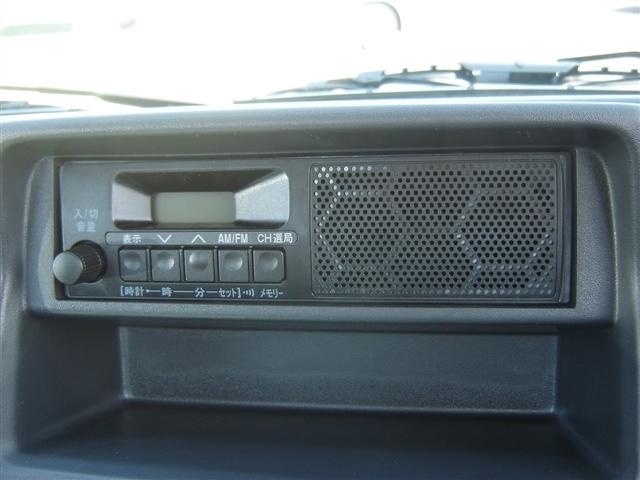 ラジオ付きです!