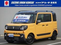 スズキ スペーシア 660 ギア ハイブリッド XZ 4WD LED シートヒーター サーキュレーター
