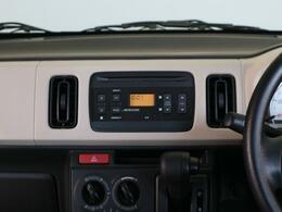 CD・ラジオ付きオーディオで、ご納車当日から退屈しません♪
