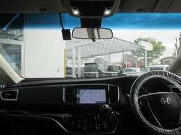インパネ周りのお写真です。 視界が広く運転もしやすくなっております♪