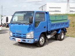 いすゞ エルフ 積載3t 強化ダンプ 4ナンバー 6F車 コボレーン付き 新明和製ダンプ