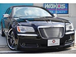 クライスラー 300 リミテッド LBエアロ22アルミ車高調黒革シートHID