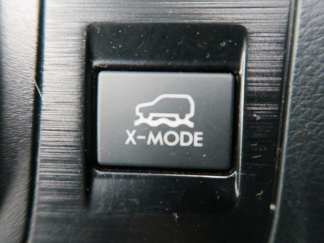 【Xモード】雪道や荒れた山道などでタイヤが空転してしまう場合などで、エンジン・トランスミッション・AWD・VDCを統合制御する事でスムーズな脱出が可能となるモードです☆悪路でも安心して走れます♪