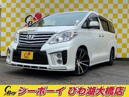 トヨタ アルファード 2.4 240X 両側Pスラ