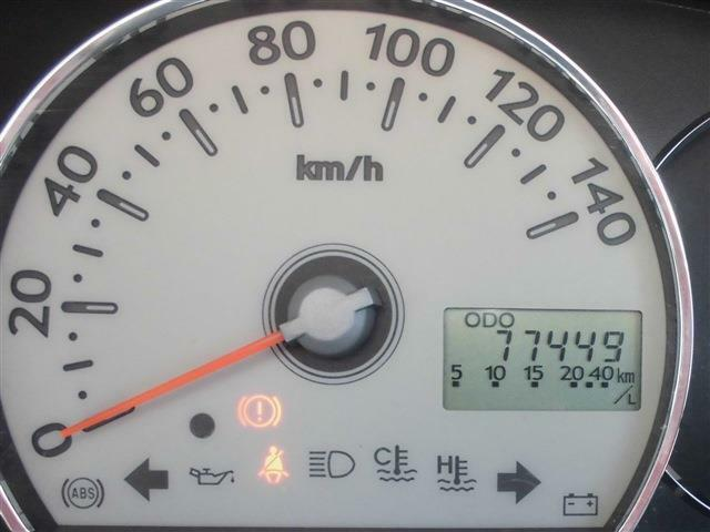 走行距離7.5万キロ!