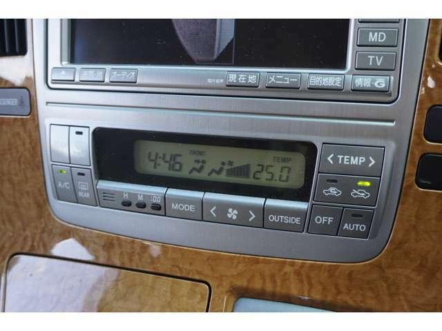 ★【前後独立温度コントロールオートエアコン】一人ひとりの体感温度に合わせて温度調整頂けます!!★