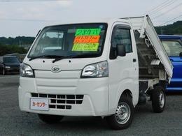 ダイハツ ハイゼットトラック 660 ローダンプ 電動モーター式 3方開 4WD Hi-Lo切替 デフロック MT5速 Navi