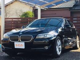 BMW 5シリーズ 523i 黒革 HDDナビTV Bカメラ スマートキー