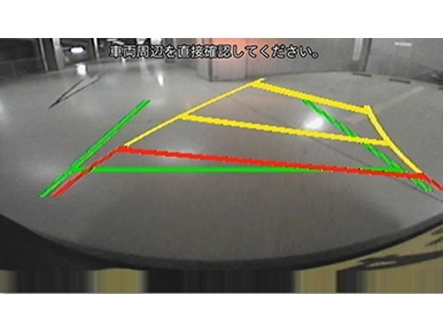 スマイルセットNo.2 【バックカメラ】ステアリング連動ガイドラインを表示するバックカメラをご用意致します。これで車庫入れもますます安心ですね★