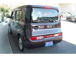 お買得車キューブ入荷しました・人気のビターショコラ・純正ナビ&TV付きの特別仕様車です・詳細はHP(http://auto-panther.com/)をご覧下さい!