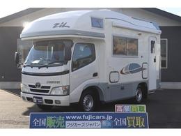 トヨタ カムロード バンテック ジル4 温水ボイラー FFヒーター 液晶テレビ