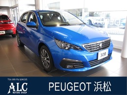 プジョー 308 アリュール ブルーHDi ディーゼルターボ 登録済み未使用車 新車保証 カープレイ