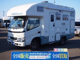 トヨタ カムロード バンテック コルドバンクス ディーゼルT4WD 温水ボイラー FFヒーター CSWエアサス