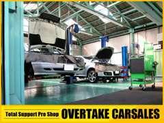 提携の運輸局認証整備工場完備!購入後の車検や修理も当社にお任せください!