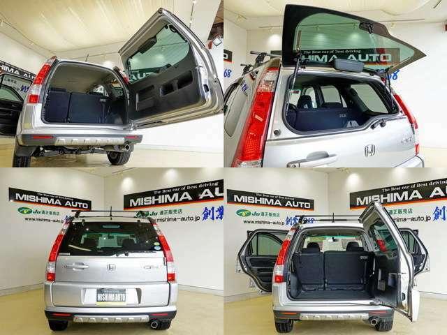 横開きで ガラスハッチ付き 狭い所でも使いやすい 開口部も高さがあるので便利ですね