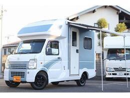 マツダ スクラムトラック AZ-MAX製 ラクーン 4WD ソーラーパネル インバーター シンク