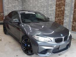 BMW M2クーペ M DCT ドライブロジック Mデュアルツインエキゾースト サンルーフ