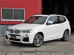 BMW X3 xドライブ35i Mスポーツ 4WD 衝突軽減アダプティブクルコン SR 茶皮