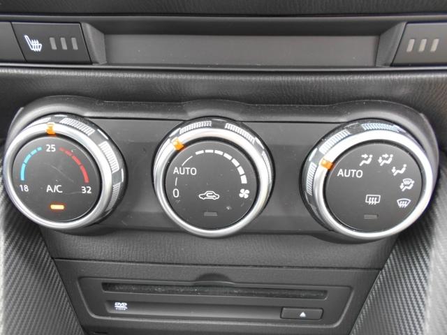 使いやすく見た目もスポーティな3連ダイヤル式スイッチのフルオートエアコンを装備しています!十分な容量がありますので1年を通して室内を快適な温度に保ってくれます!シートヒーター付で冬でも快適です!