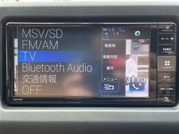 【純正メモリナビ】CD/BluetoothAM/FM/フルセグ/USB運転がさらに楽しくなりますね♪