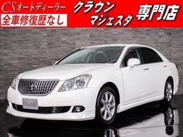 トヨタ クラウンマジェスタ 4.6 Gタイプ 黒本革/プレミアムSS/プリクラ/レーダーC