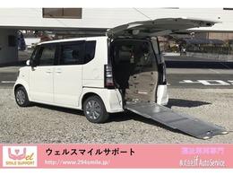 ホンダ N-BOX+ 660 G 車いす仕様車 スローパー 福祉車両