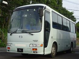 日野自動車 リエッセ 29人乗 バス ETC バックモニター フロント&内部カメラ 天井大型モニター