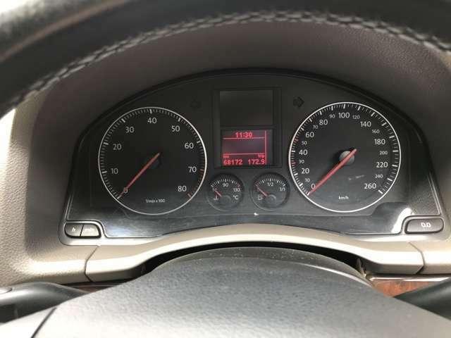 ★スピードメーター★走行距離は6万8千キロと、まだまだ走れます!!