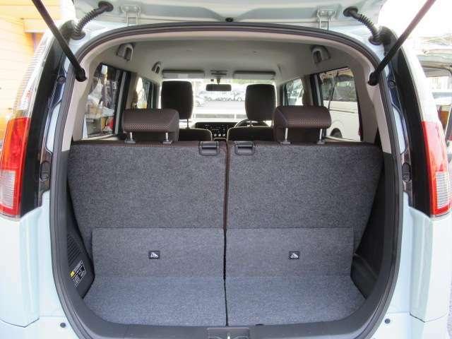 荷物も沢山載せられるスペースを確保していますね!休日の買い物も頼りになりますよ!フリーダイヤル0120-50-1190