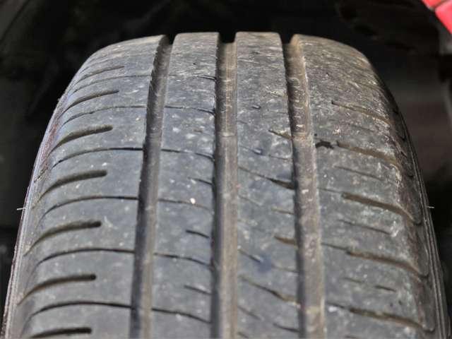 タイヤの山も7分山程度!国産タイヤ(ヨコハマ)でまだご使用いただけるかと思います★