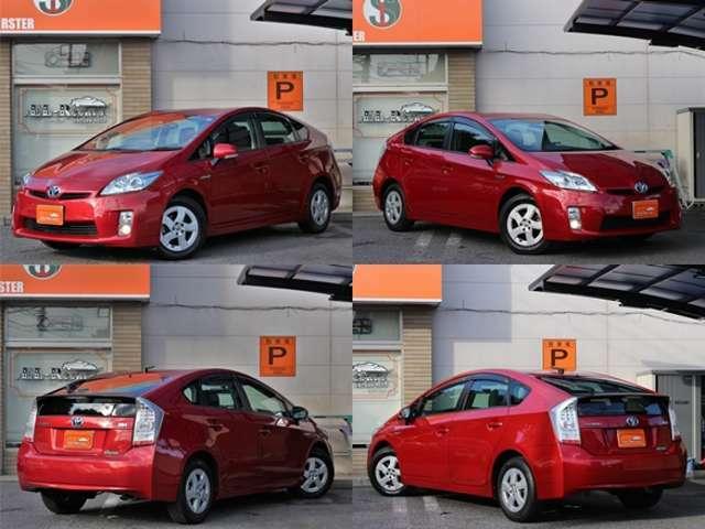 【人気車】のプリウスが入庫☆SDナビやDVD再生も可脳☆ETCやスマートキーなどの快適装備も!おすすめの1台です