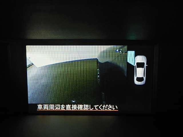 「サイドビューモニター」で左前方の死角を確認可能♪もちろんバックカメラも付いているので後方も御安心を!!