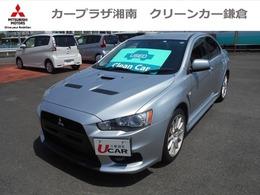 三菱 ランサーエボリューション 2.0 GSR X ハイパフォーマンスパッケージ 4WD リヤスポイラーレス車