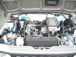 F6Aエンジン、機関良好、走行実走ですが、経年劣化の為Tベルト交換、