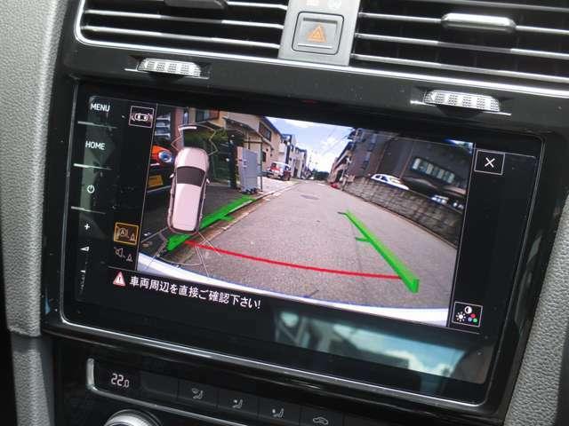 バックカメラ搭載で駐車時も安心です!
