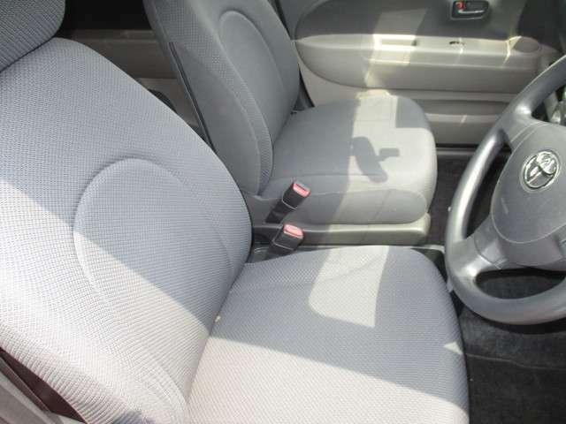 フロントシート。