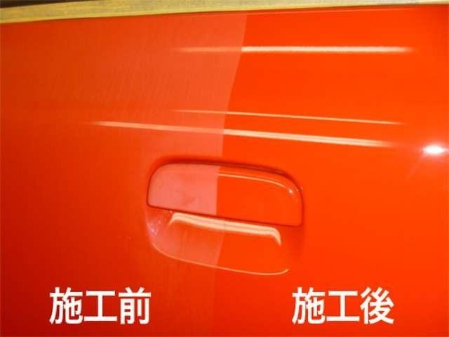 Bプラン画像:未使用車の状態で施工するからこそ長く保つことができます。