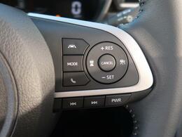 レーダークルーズコントロール装備♪追従ドライブ支援機能装備♪前のクルマの加速・減速に合わせ、一定の車間距離を保ちながら、追従走行ができます。