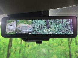 インテリジェントルームミラー☆車体の後ろに取り付けたカメラで後方の様子を写し、その画像を提供する液晶モニターをルームミラー