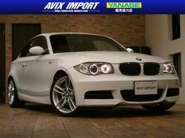 BMW 1シリーズクーペ 135i Mスポーツ 直6Wターボ 黒革 HDDナビ 18AW