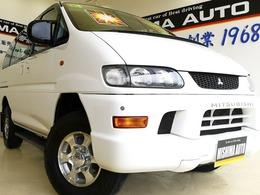 三菱 デリカスペースギア 3.0 XE エアロルーフ 4WD 3.0XE 5ドア 両側スライド4WD8名1オーナー