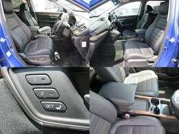 フロントシートです!運転席は電動シートになっていますので、細かいシートポジションの調整が可能です!