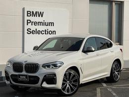BMW X4 M40i 4WD 純インディビ21AWコニャック革HUD1オーナー