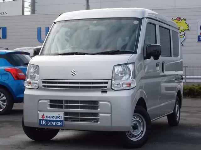リヤスモークガラスのエブリイPC☆4速オートマ☆ 新車保証継承☆県外からのお問い合わせも大歓迎!