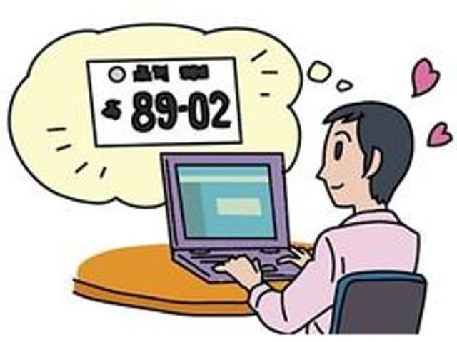 Bプラン画像:☆お気に入りの番号をナンバープレートにすれば、より愛着もわきます♪どうせなら希望ナンバーを取得しちゃうのをお勧致します☆