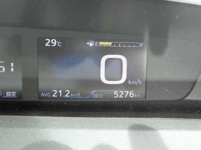 走行距離は5,276km!少ない走行距離がうれしいですね♪